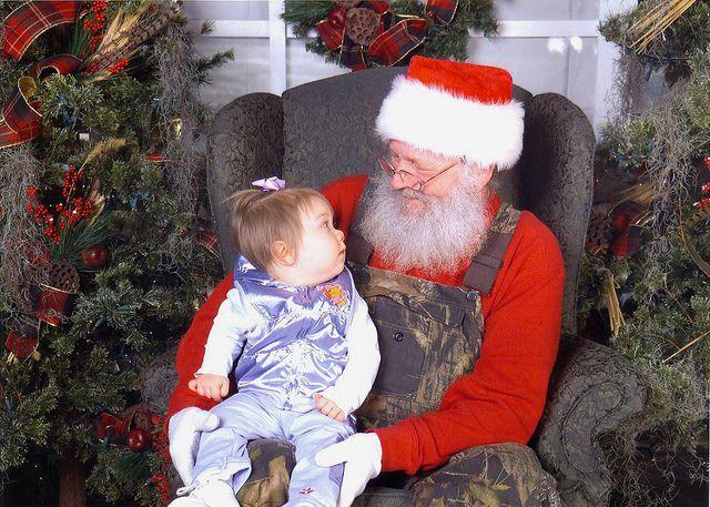 Santa at Bass Pro Shop