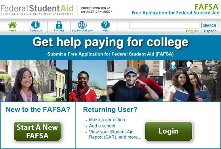 FAFSA Website