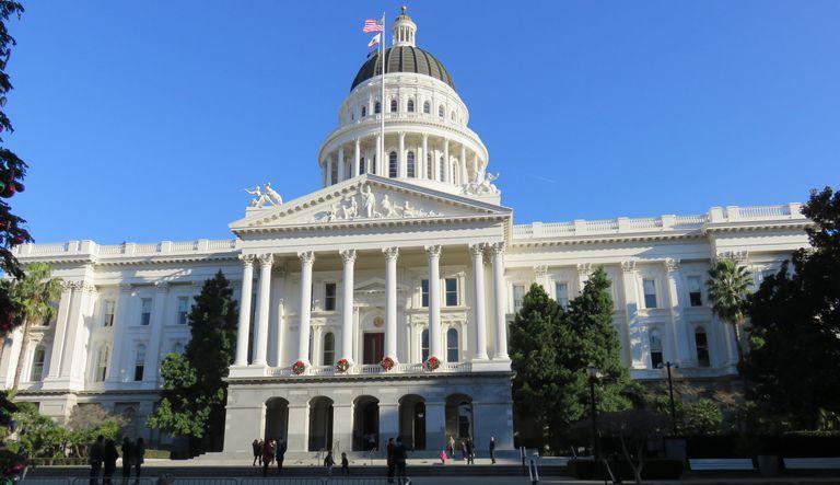 California State Capital Building in Saramento