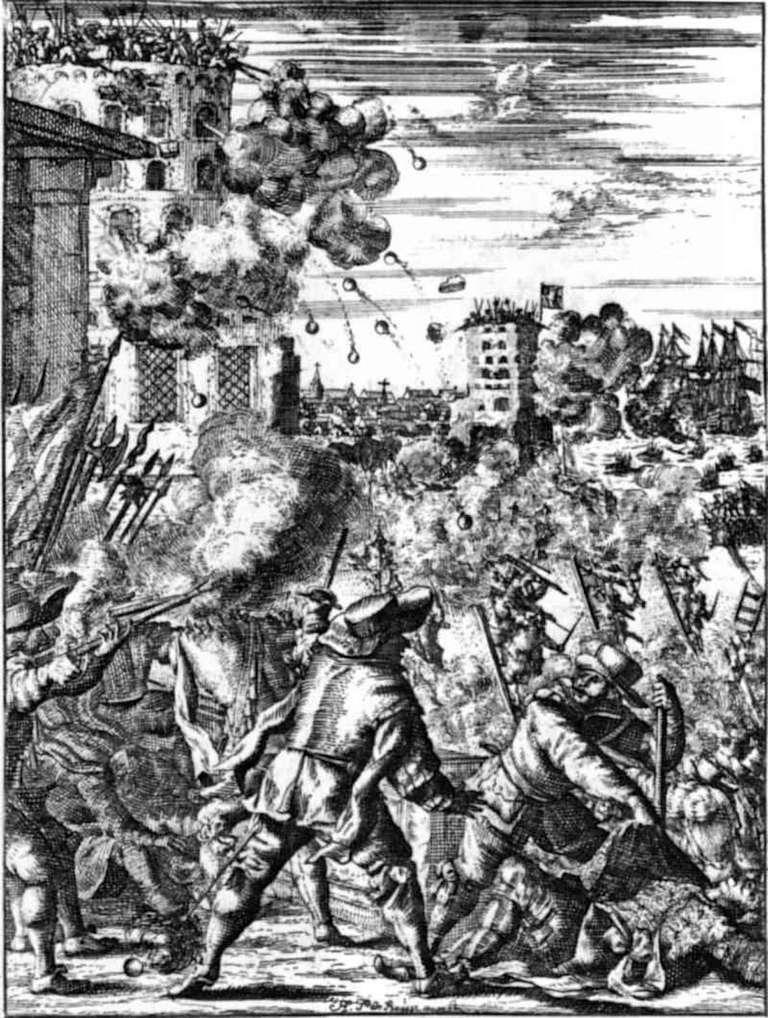 Morgan's attack on the Castillo de San Jeronimo, Porto Bello