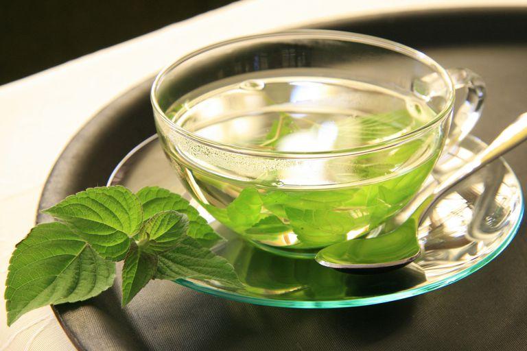 Infusión o té de hierbabuena