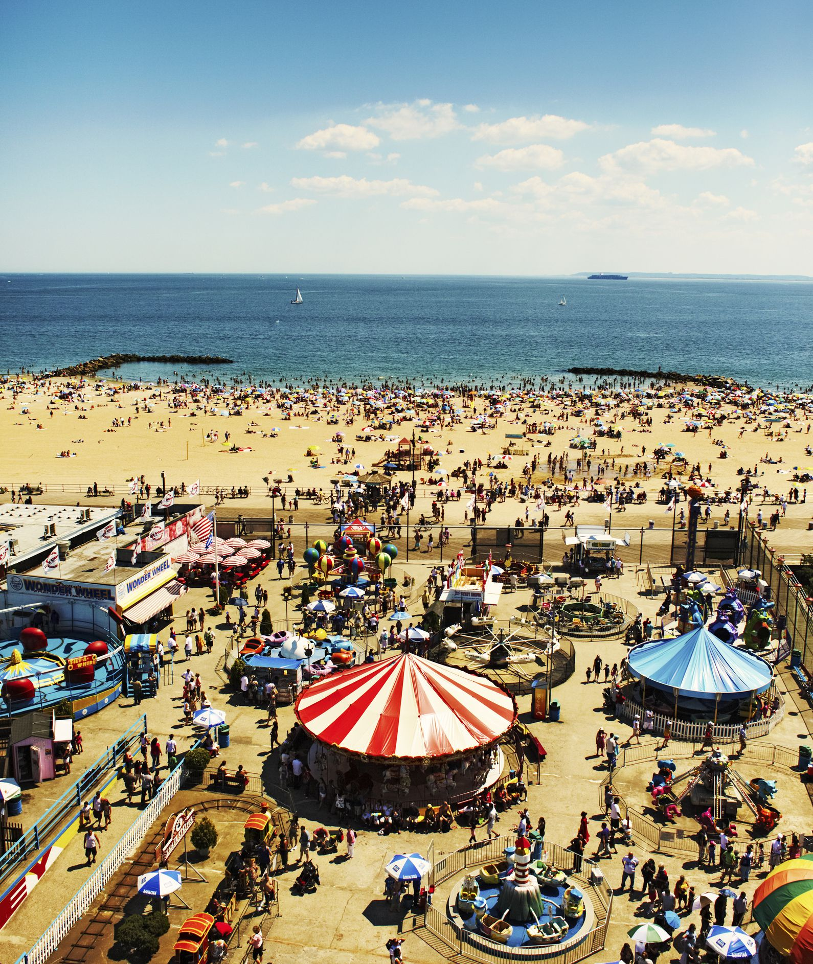 Beach Island: An Honest Word About The Public Beach At Coney Island