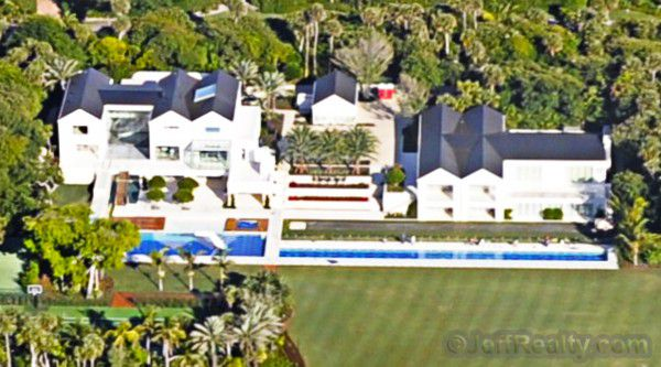 Another look at the Tiger Woods house in Jupiter Island, Florida