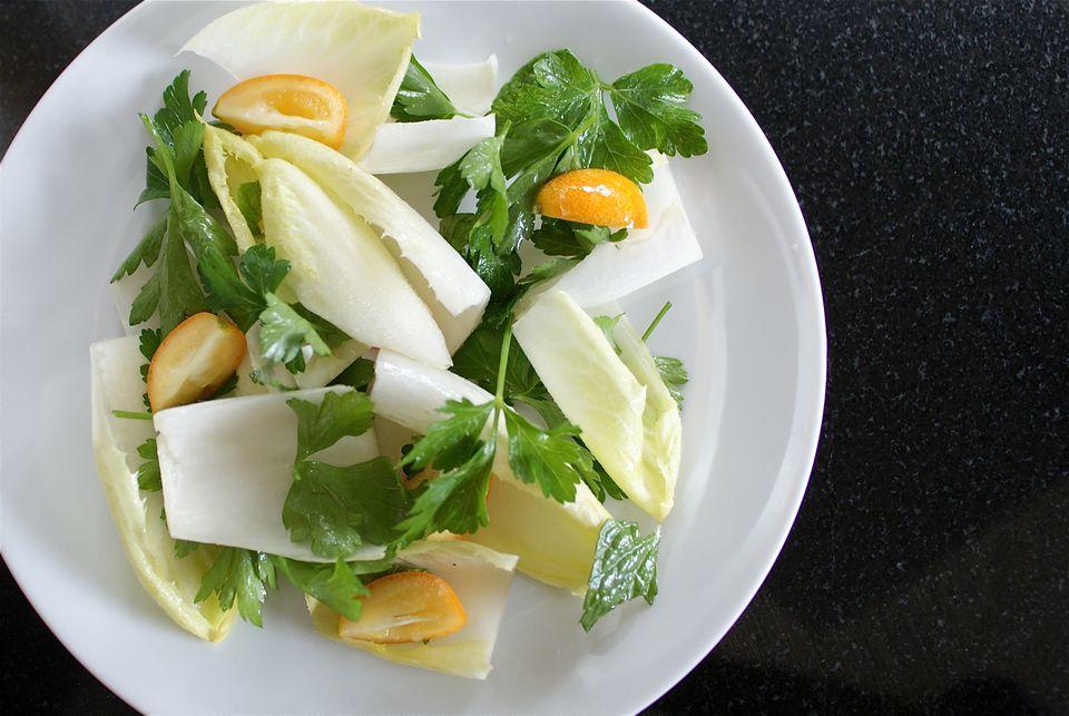 Endive Kumquat Salad