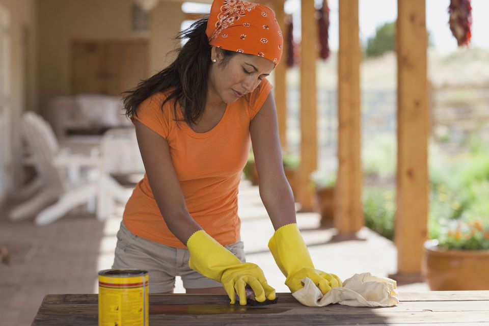 How To Clean And Care For Wood Garden Furniture