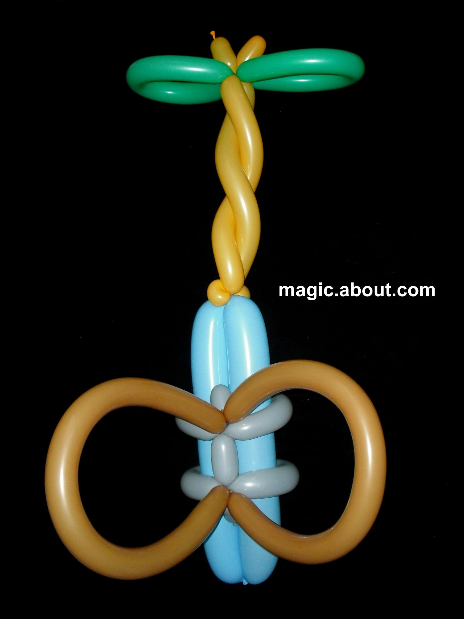 how to make balloon hats jester flower santa