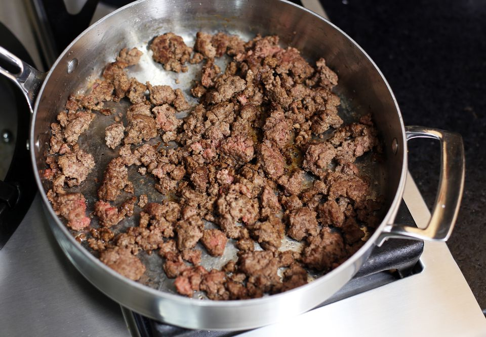 Browned Ground Beef
