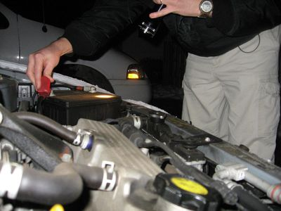 how to clean off jumper cables