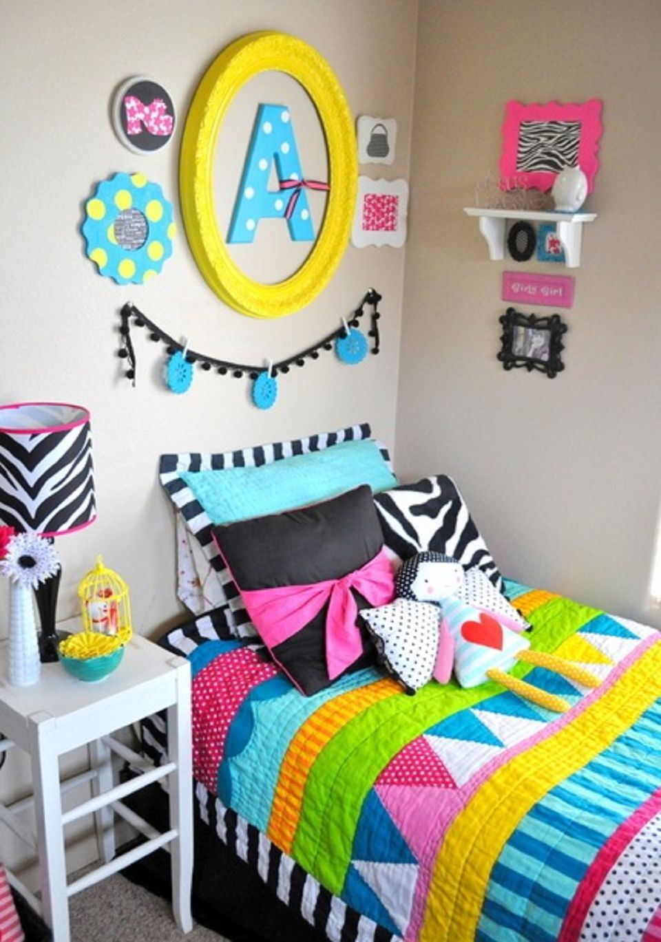little girl bedroom. Colorful girl s bedroom Ideas for Decorating a Little Girl Bedroom