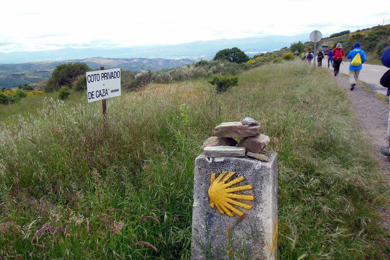 Camino de Santiago Route Marker