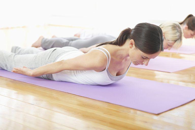 Part of a Pilates leg stretch routine.