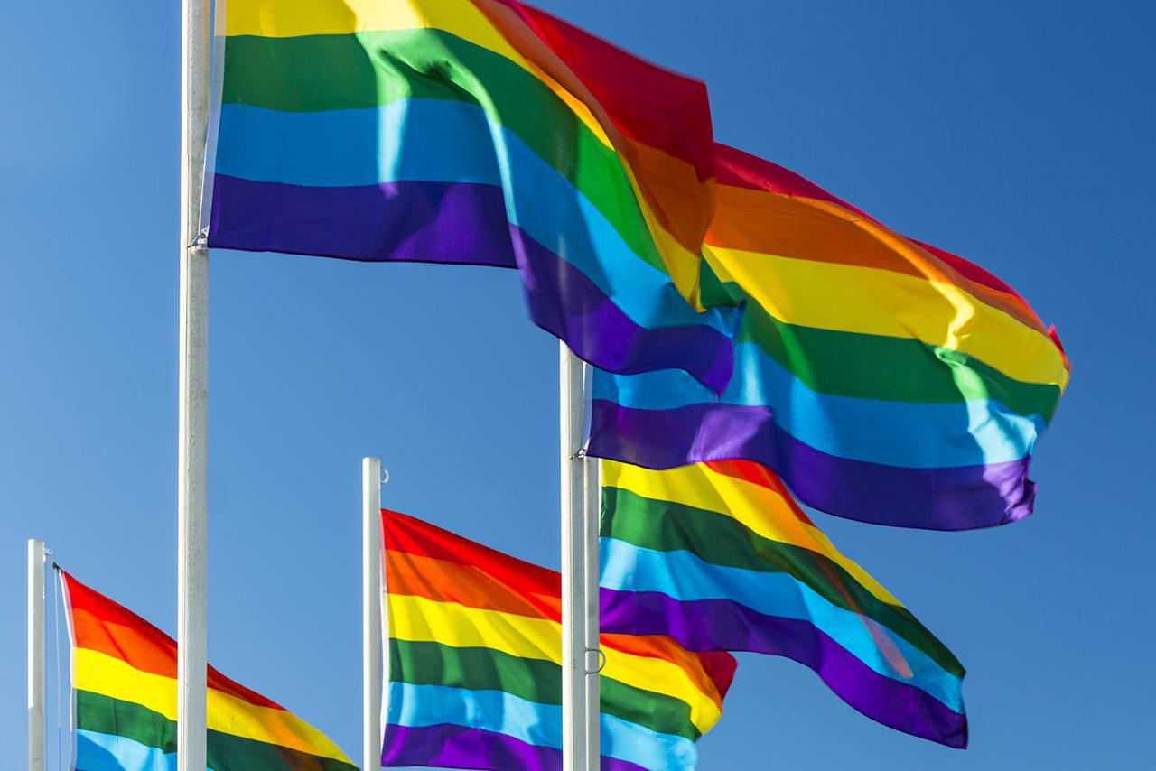 the lgbt movement The history of the rainbow flag began in 1978 when activists hired gilbert baker to design a symbol for the lgbt movement.
