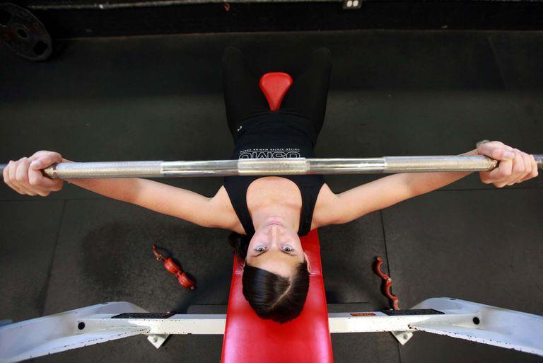 benchpress exercise