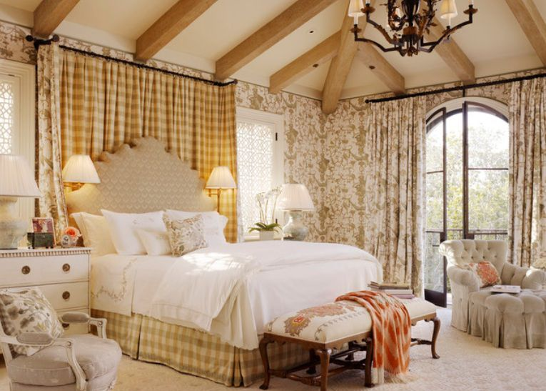 French Country Style Bedroom. French Country Bedroom Decorating Ideas and Photos