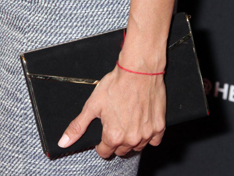 Celebrity With Kabbalah Bracelet