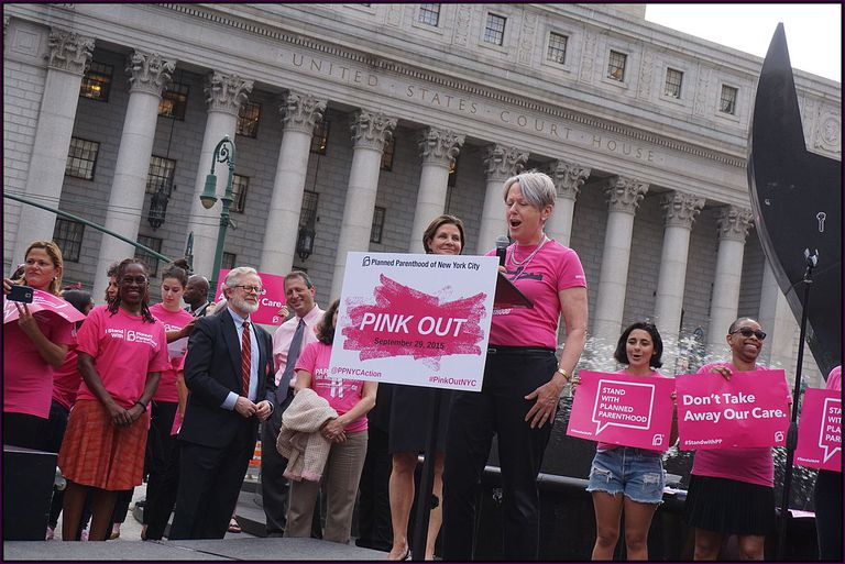 Pink out for Planned Parenthood event
