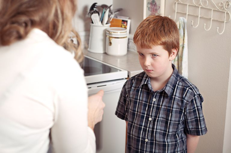 Letting your child swear sends the wrong message.