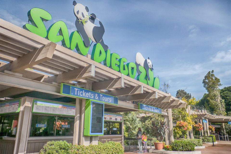 San Diego Zoo Ticket Booths