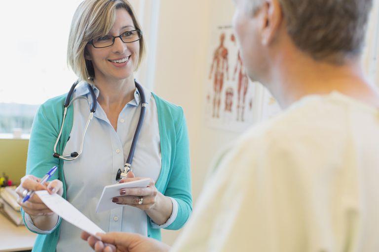 doctor treating Lupus Patient