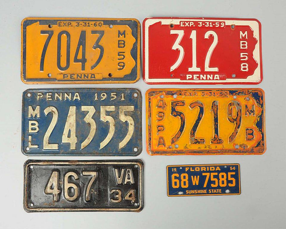 Learn About Collecting Vintage License Plates