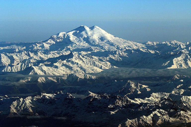 Mount elbrus facts russias highest mountain picture of mount elbrus in russia sciox Image collections