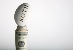 Roth IRA nest egg with cash money