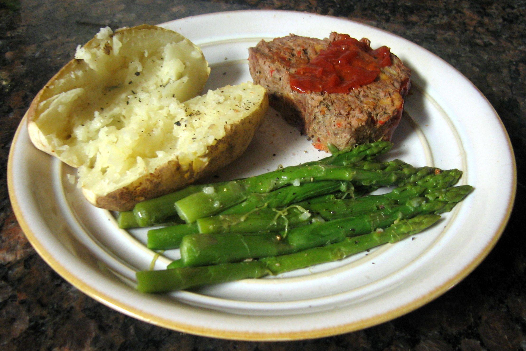 glazed grilled meatloaf recipe