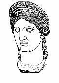 hera bust image goddess