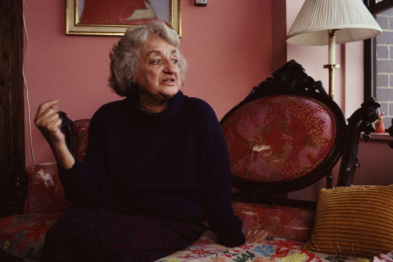 Betty Friedan in 1990