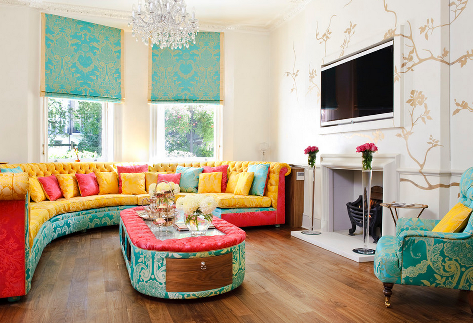 21 Colorful Living Rooms to Crave