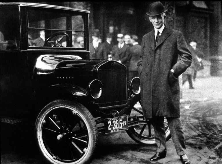 Biography of henry ford for Ford motor company history background