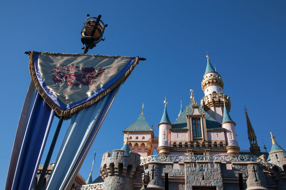 Sleeping Beauty Castle at Disneyland, CA