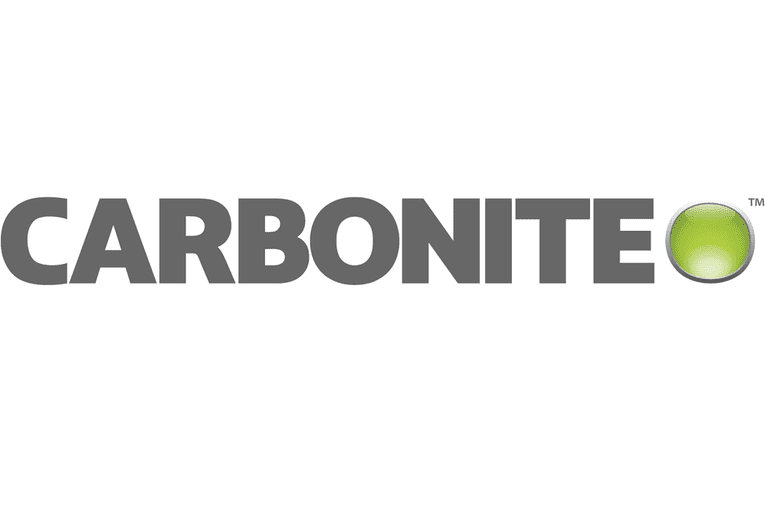 Screenshot of the Carbonite logo