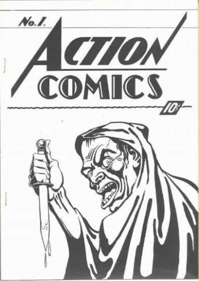 Cover of Action Comics #1 Ashcan (1937)