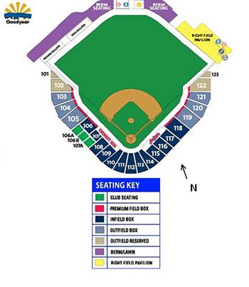 Mariners Amp Padres Seating Chart For Peoria Spring Ball