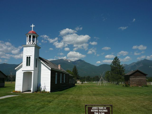 St. Mary's Mission in Stevensville MT