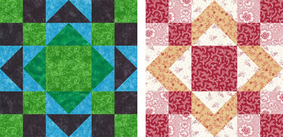 Aunt Sukey's Choice Quilt Block Pattern