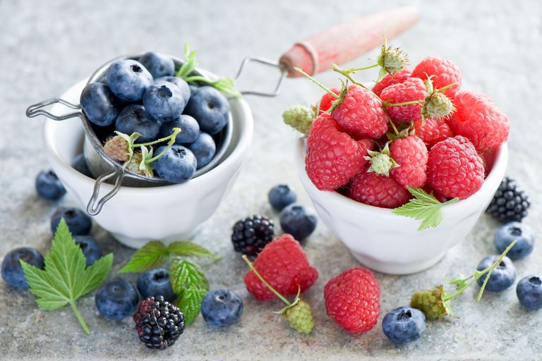 Berries are rich in phenolic acids that are good for your health.