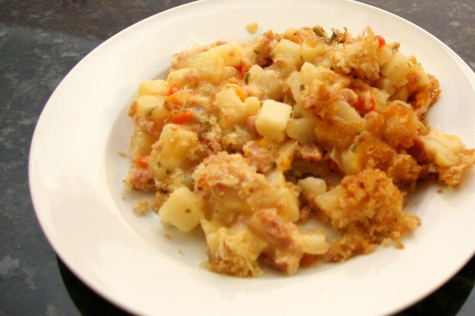 Potato and Ham Casserole