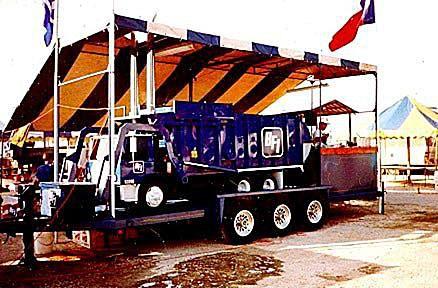 BFI Garbage Truck Custom Smoker manufactured by Browning-Ferris Industries.