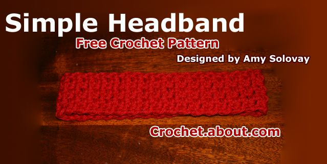 Simple, Beginner-Friendly Crochet Headband
