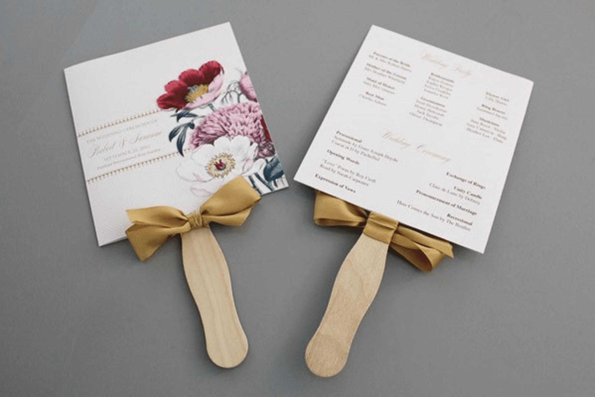 27 Free Wedding Program Templates You\'ll Love