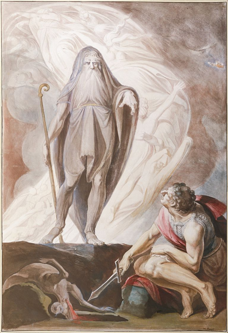 Tiresias was a character in Greek mythology