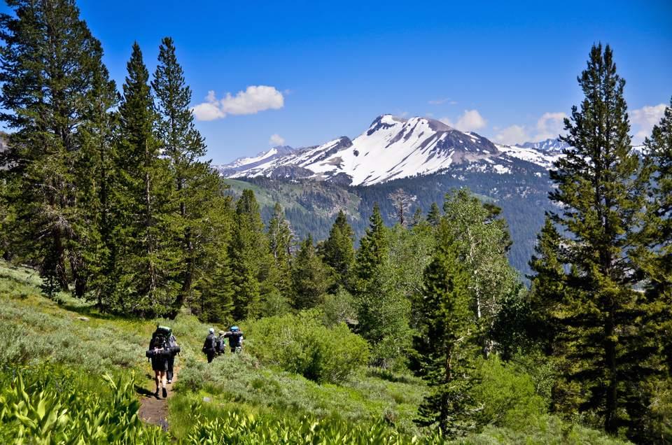 Agnew Meadows, Pacific Crest Trail, California, USA