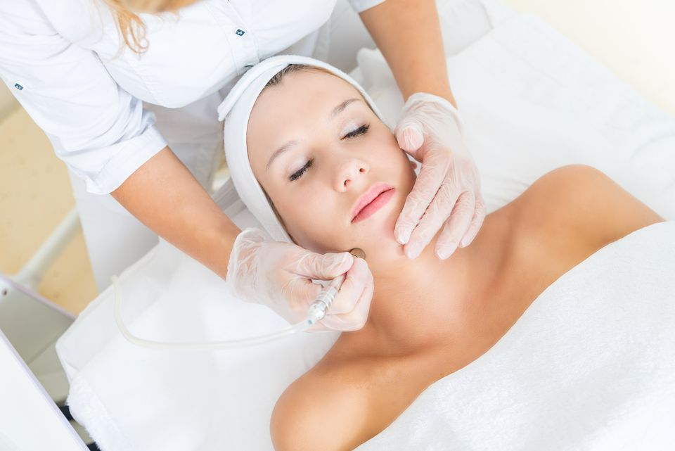 What is exfoliation microdermabrasion is an aggressive form of mechanical facial exfoliation getty images gregorbister ccuart Choice Image