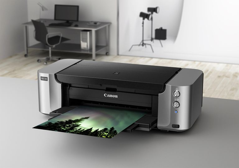 Canon's Pixma Pro-100 wide-format photo printer