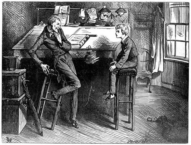 Uriah Heep in David Copperfield