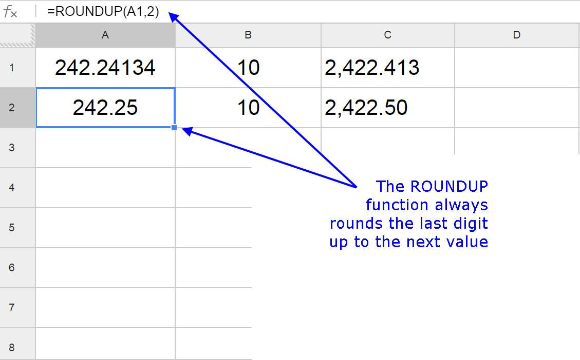 Rounding numbers up in google spreadsheets biocorpaavc Gallery