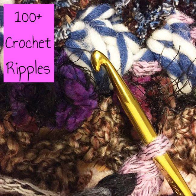 100+ Crochet Ripples
