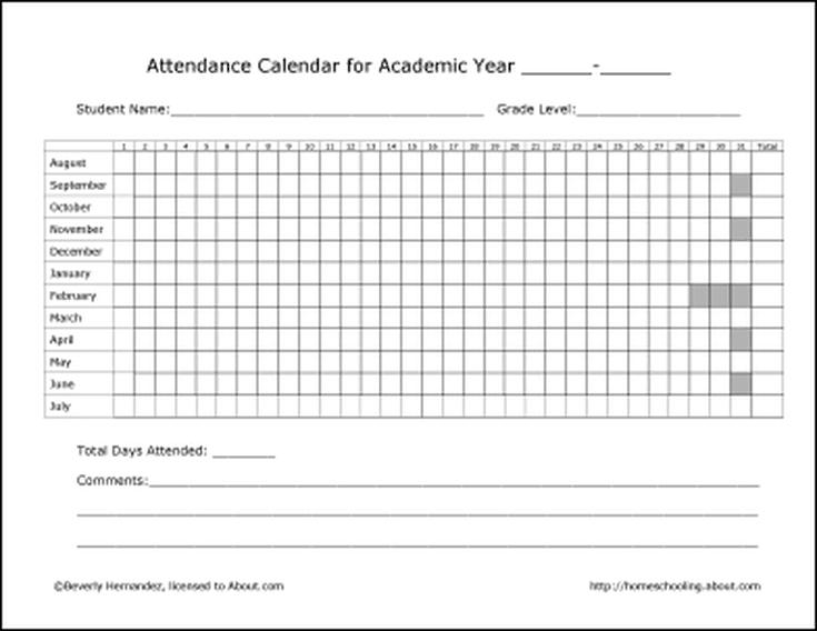 Free Printable Homeschool Record Keeping Forms